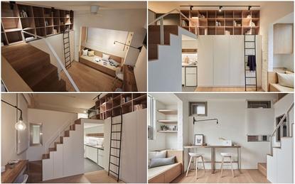 Cô gái 25 tuổi tự tay thiết kế căn hộ 22m² của mình đẹp không kém phòng khách sạng hạng sang
