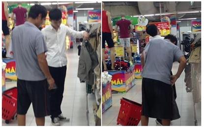 """Hai cha con nhường nhau chiếc quần và chuyện """"cha giàu, cha nghèo"""" gây tranh cãi"""
