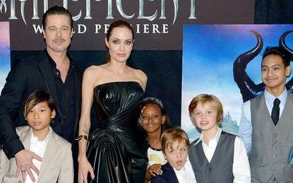 Brad Pitt quyết định làm việc này để bớt gây tổn thương tâm lý cho các con