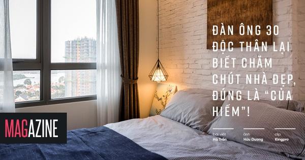 """Chàng độc thân 35 tuổi tự biến căn hộ của mình thành """"ngôi nhà mơ ước"""""""