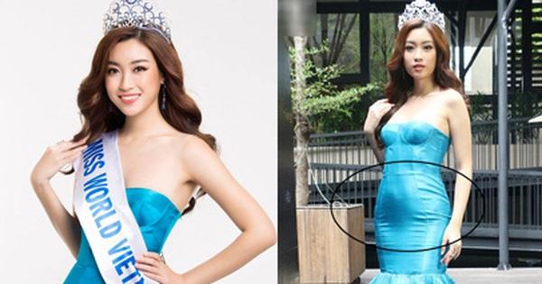 """Ngay sự kiện công bố tham dự cuộc thi Hoa hậu Thế giới 2017, HH Đỗ Mỹ Linh đã bị """"dìm dáng"""""""