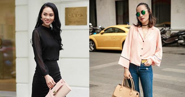 """Street style """"pha trộn"""" khéo léo chất hiện đại và cổ điển của quý cô hai miền"""