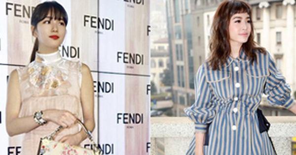 Suzy đẹp lấn át dàn khách mời, Thái Y Lâm có phần mờ nhạt tại Tuần lễ thời trang Milan