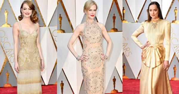 Đây là 12 bộ váy lộng lẫy nhất thảm đỏ Lễ trao giải Oscar 2017
