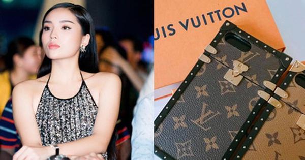 Hoa hậu Kỳ Duyên chi hơn 40 triệu đồng chỉ cho… ốp điện thoại Louis Vuitton