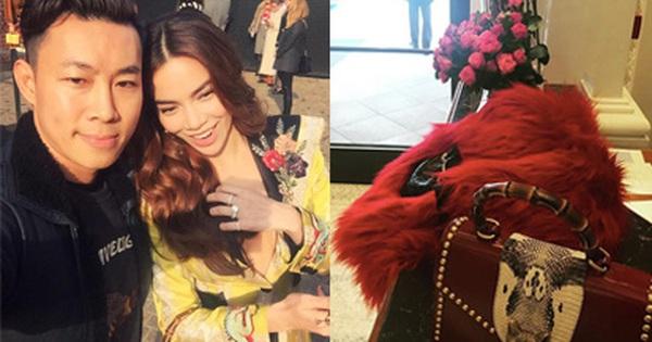 """HOT: Hồ Ngọc Hà diện set đồ hàng trăm triệu, dự show Gucci đang khiến dân tình điên đảo vì quá """"đỉnh"""""""