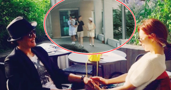 Bae Yong Joon lần đầu xuất hiện cùng quý tử và vợ