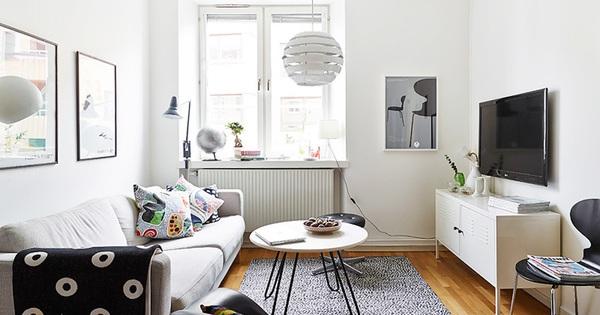 """Căn hộ chỉ 10m² nhưng được bố trí nội thất """"chuẩn"""" nên vẫn đẹp lung linh"""