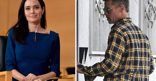 Angelina Jolie và Brad Pitt trực tiếp nói chuyện sau nhiều tháng không liên lạc