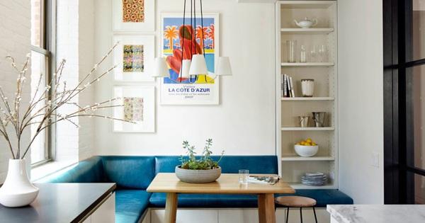 Những góc ăn sáng lãng mạn trong nhà bếp
