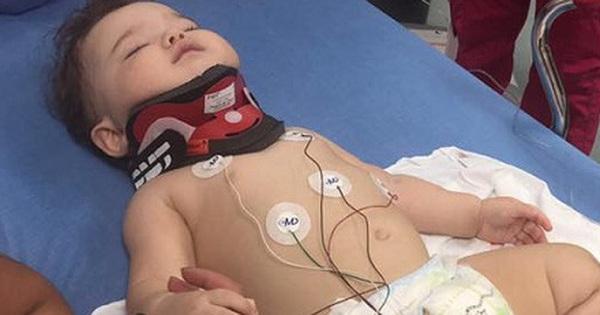 Bé gái 11 tháng tuổi bị ngã từ cửa sổ đã có tấm chắn và lời cảnh tỉnh tới các cha mẹ