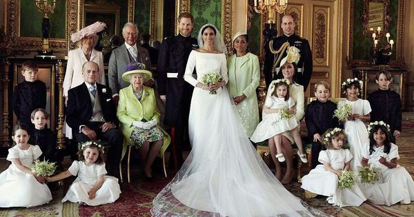 Những hình ảnh đầu tiên về đám cưới Hoàng gia đẹp mê mẩn chính thức được công bố