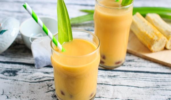 Cách làm trà sữa ngô thơm ngon