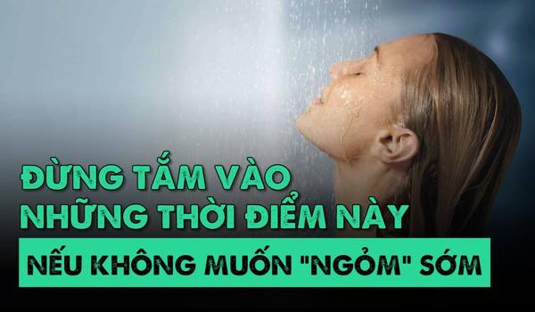 """Đừng tắm vào những thời điểm này nếu không muốn """"ngỏm"""" sớm"""