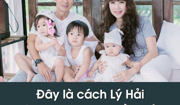 Đây là cách Lý Hải giúp vợ vượt qua trầm cảm sau 4 lần sinh con