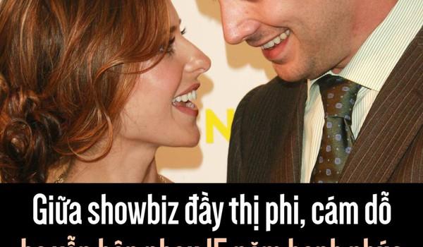 Giữa showbiz đầy thị phi, cám dỗ họ vẫn bên nhau 15 năm hạnh phúc và lý do là...