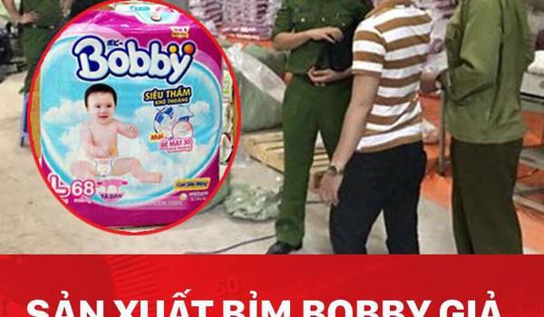 """Sản xuất bỉm Bobby giả, """"lãi"""" gấp 4 lần"""