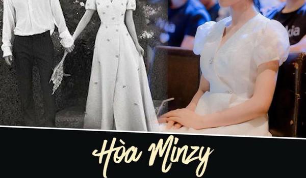 Hòa Minzy rất xinh nhưng hình như mặc váy nhái
