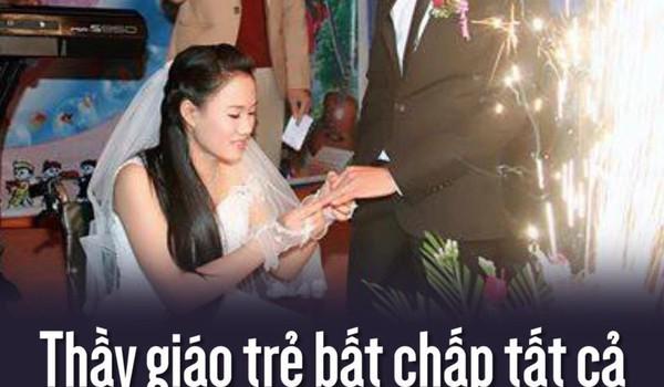 Thầy giáo trẻ bất chấp tất cả để cưới cô gái bị liệt hai chân