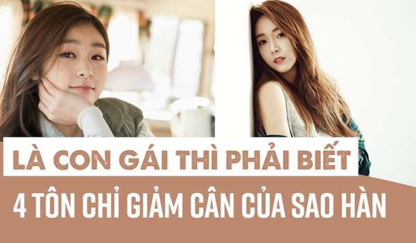 Là con gái thì phải biết 4 tôn chỉ giảm cân của sao Hàn