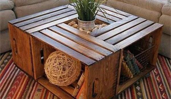 Đừng vội vứt các thùng gỗ cũ, hãy biến chúng trở nên hữu ích và đẹp mắt như này đây