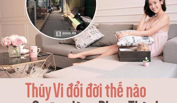 """Thúy Vi đổi đời thế nào sau 3 năm dùng Phan Thành làm """"bàn đạp"""" để nổi tiếng?"""