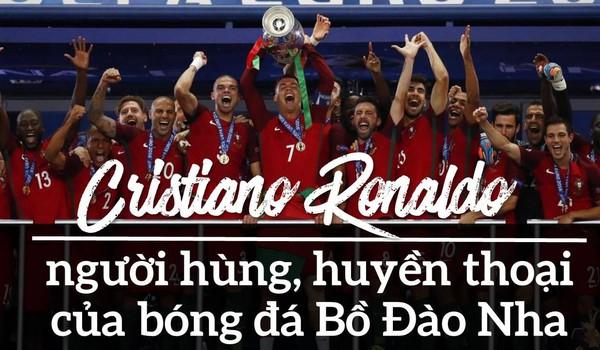 CR7 - người hùng, huyền thoại của bóng đá Bồ Đào Nha