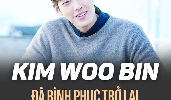 Kim Woo Bin đã bình phục trở lại sau 1 năm điều trị ung thư