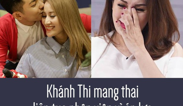 Khánh Thi mang thai liên tục nhập viện vì áp lực Phan Hiển đã làm điều này vực dậy cô