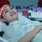Bị huyết áp thấp, Á hậu Việt Nam 2016 vẫn tham gia hiến máu cứu người trong chương trình Chủ nhật Đỏ 2018