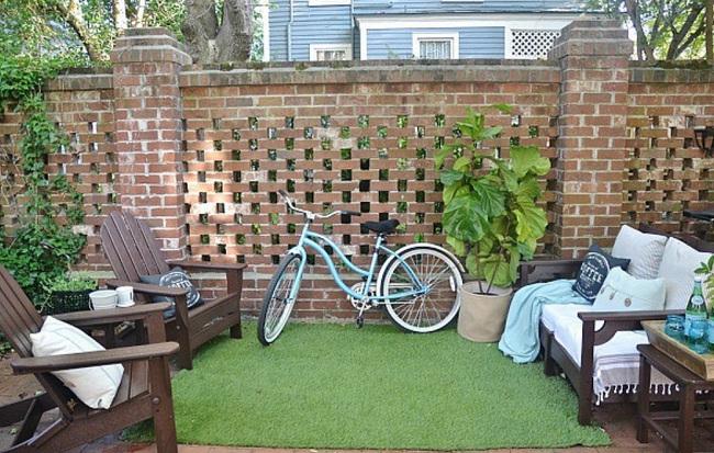 thiết kế sân vườn nhỏ xinh 1