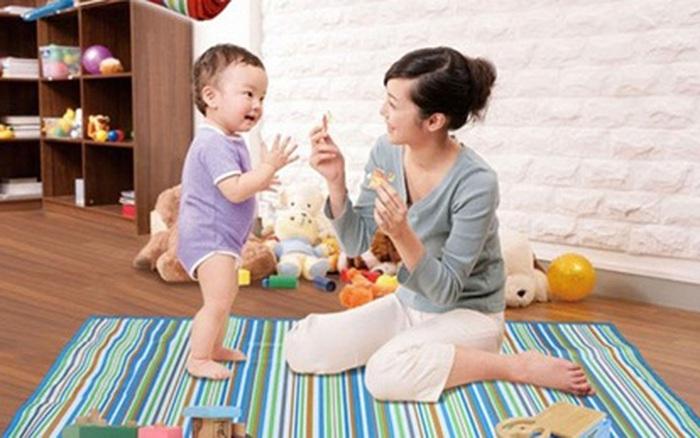 Kết quả hình ảnh cho Trẻ 7 – 12 tháng