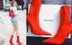 Cả Ngọc Trinh và Kỳ Duyên đều đang bị đôi boots đỏ này
