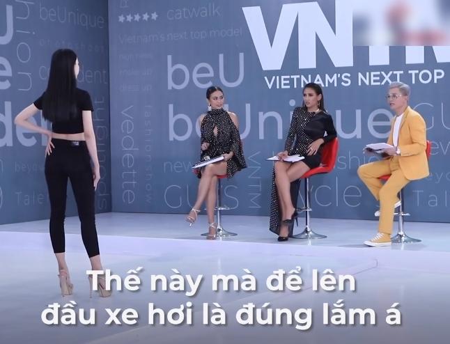 """Những phát ngôn """"xéo xắt"""" của Nam Trung tại Vietnam's Next Top Model 2020: Người khen hài hước, kẻ """"ném đá"""" vì quá chua ngoa - Ảnh 3."""