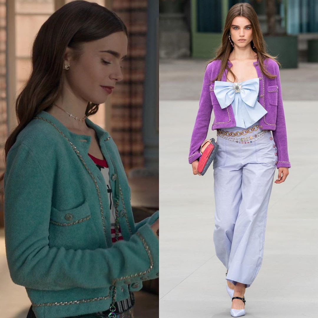 Xem Emily Ở Paris mà dân tình đồng lòng gọi tên Jennie, nguyên nhân nằm ở chiếc áo Chanel nhiều sóng gió - Ảnh 3.