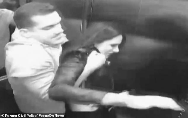 """Nữ luật sư bị chồng ném chết từ tầng 4, hình ảnh cuối cùng của nạn nhân vật lộn với """"tử thần"""" trong thang máy khiến ai cũng rùng mình kinh hãi - Ảnh 6."""