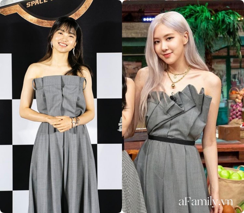 """""""Ngọc nữ"""" mới của Song Joong Ki đụng hàng với Rosé (Black Pink): Không so bì nhan sắc mà cách mix đồ đã thua ngay từ màn """"gửi xe""""  - Ảnh 6."""