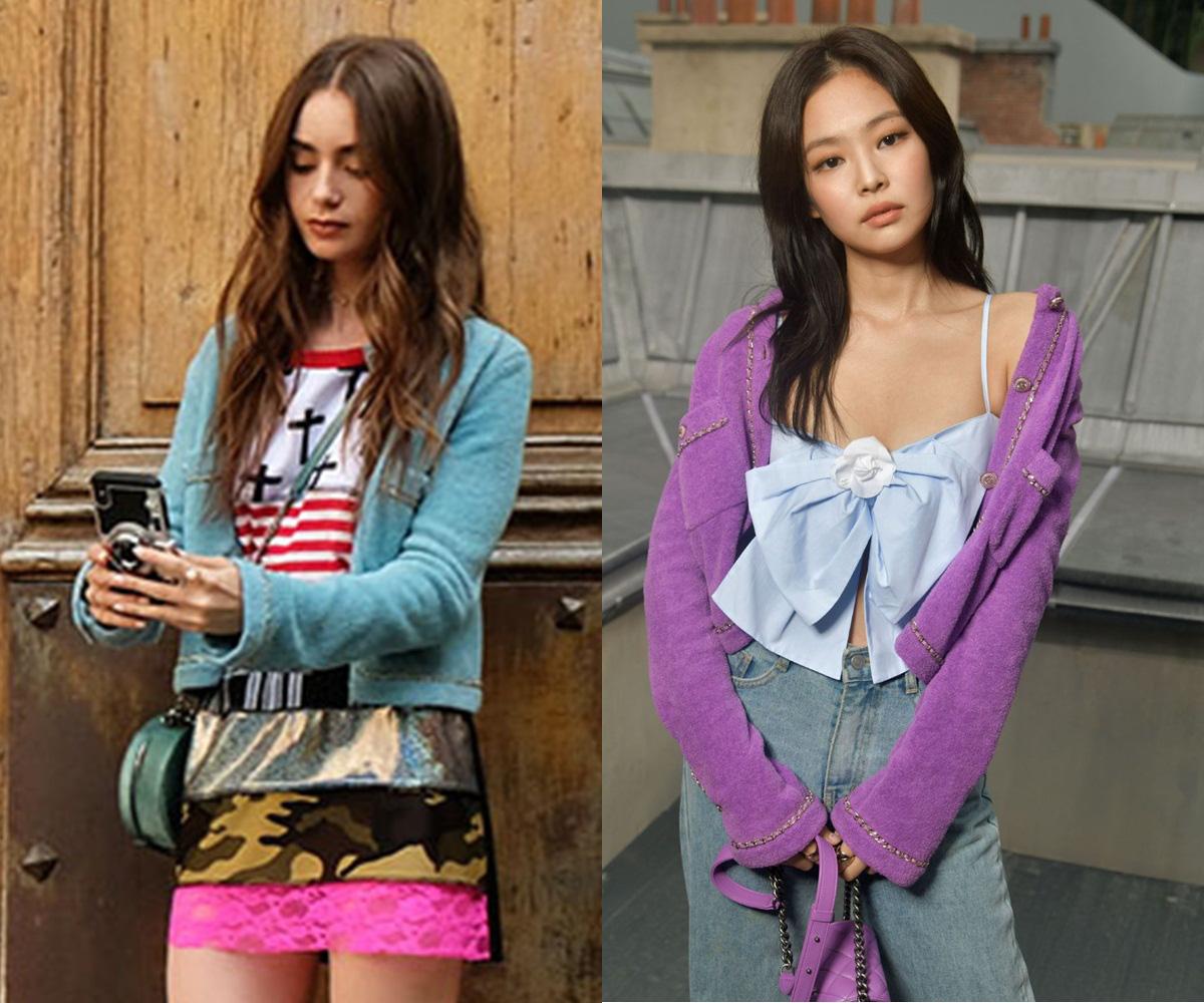 Xem Emily Ở Paris mà dân tình đồng lòng gọi tên Jennie, nguyên nhân nằm ở chiếc áo Chanel nhiều sóng gió - Ảnh 6.
