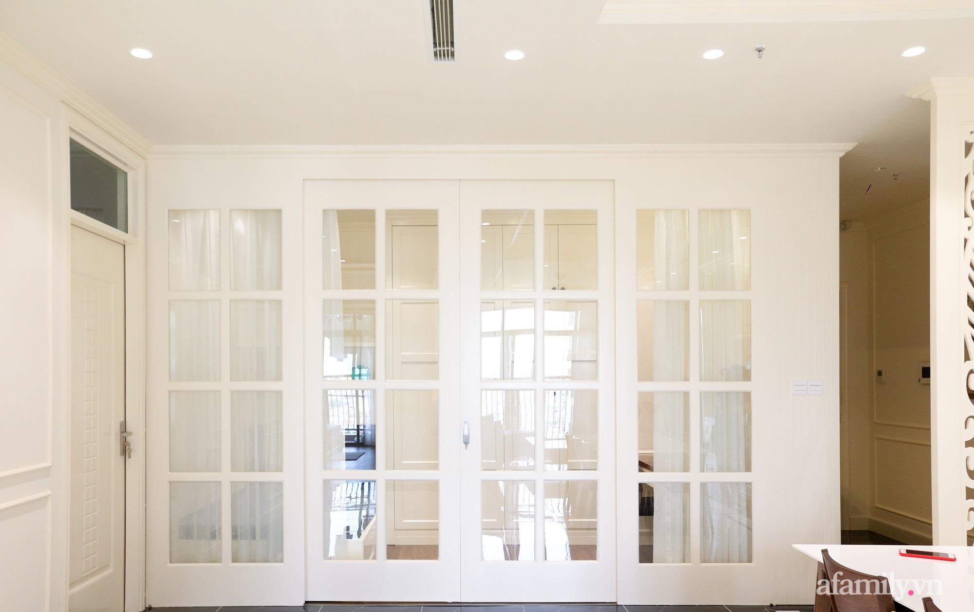 Căn hộ 121m² đẹp sang chảnh với phong cách bán cổ điển ở Hà Nội - Ảnh 11.