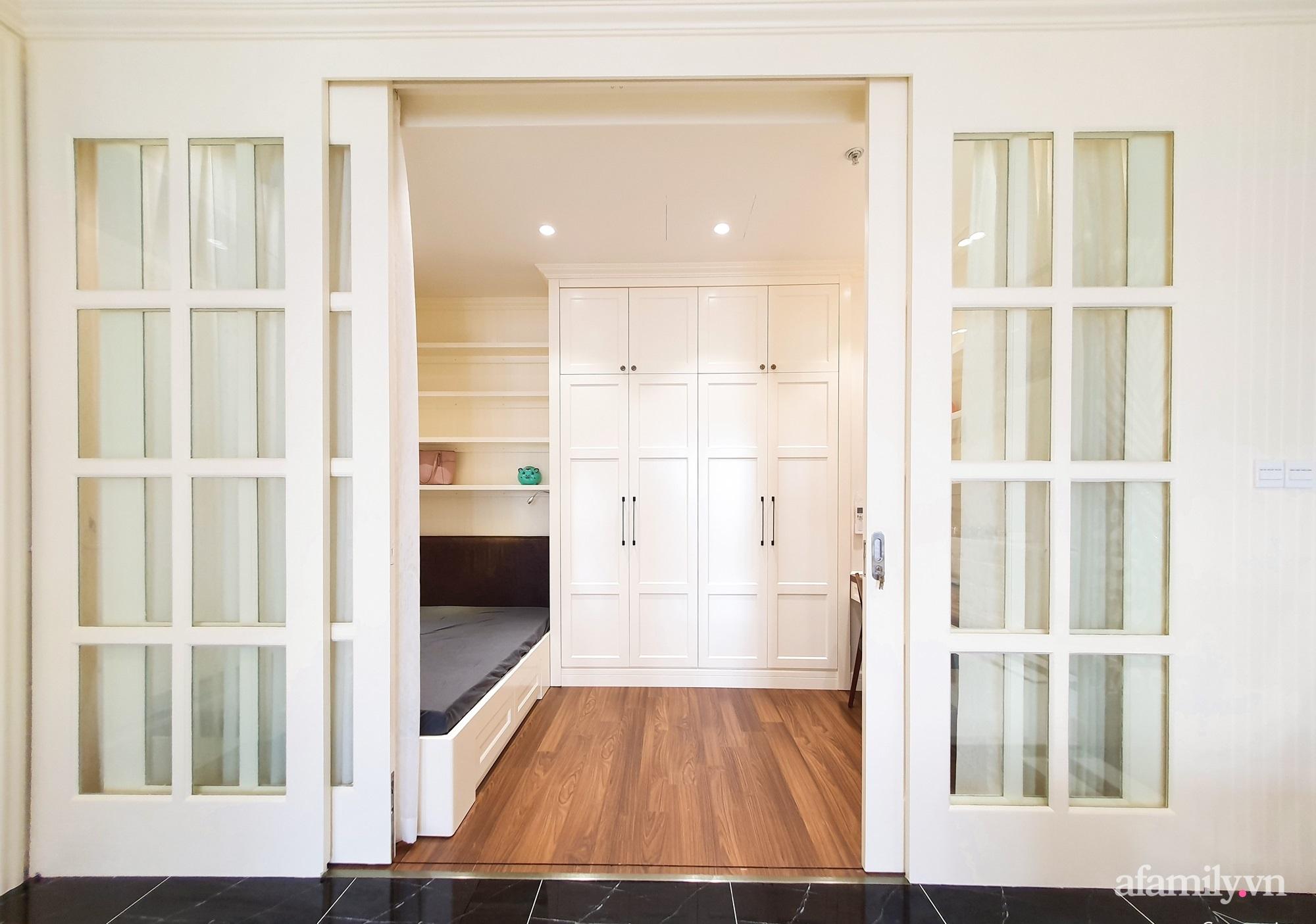 Căn hộ 121m² đẹp sang chảnh với phong cách bán cổ điển ở Hà Nội - Ảnh 12.
