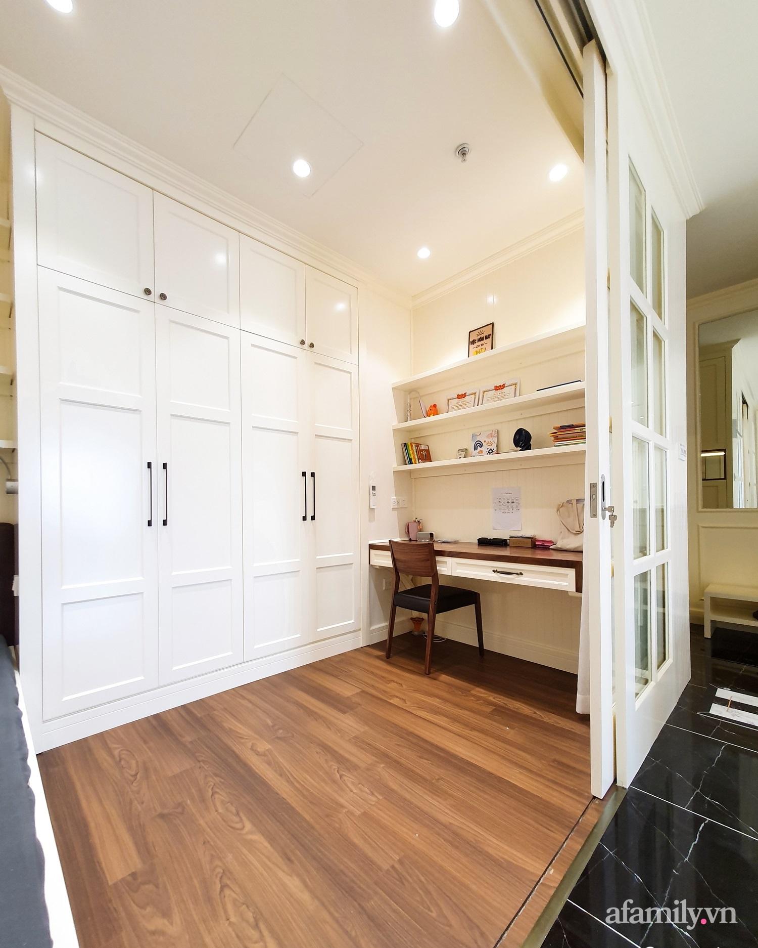 Căn hộ 121m² đẹp sang chảnh với phong cách bán cổ điển ở Hà Nội - Ảnh 14.