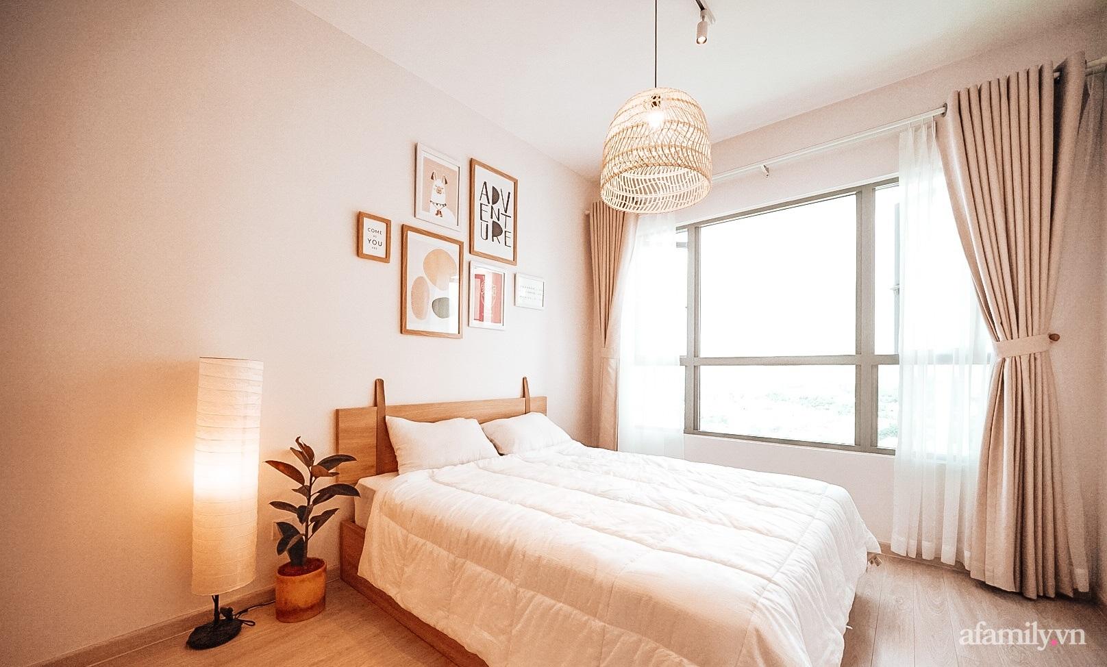 Căn hộ 75m² đầy đủ tiện ích đẹp hiện đại với gam màu trắng kem có chi phí 110 triệu đồng của cô gái độc thân ở Sài Gòn - Ảnh 12.
