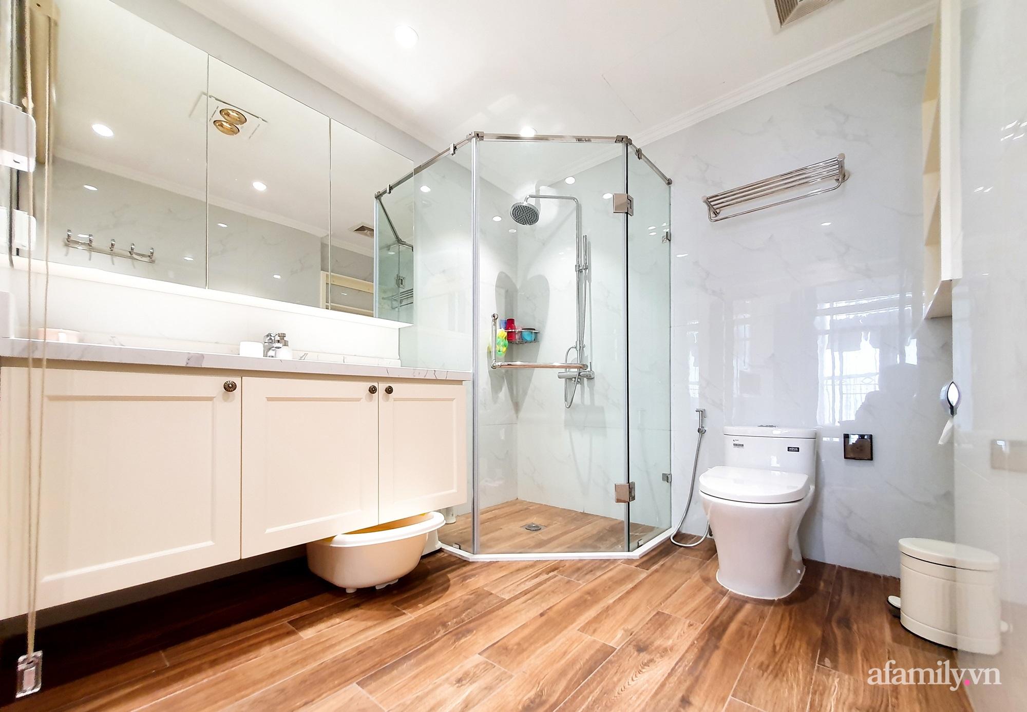 Căn hộ 121m² đẹp sang chảnh với phong cách bán cổ điển ở Hà Nội - Ảnh 21.