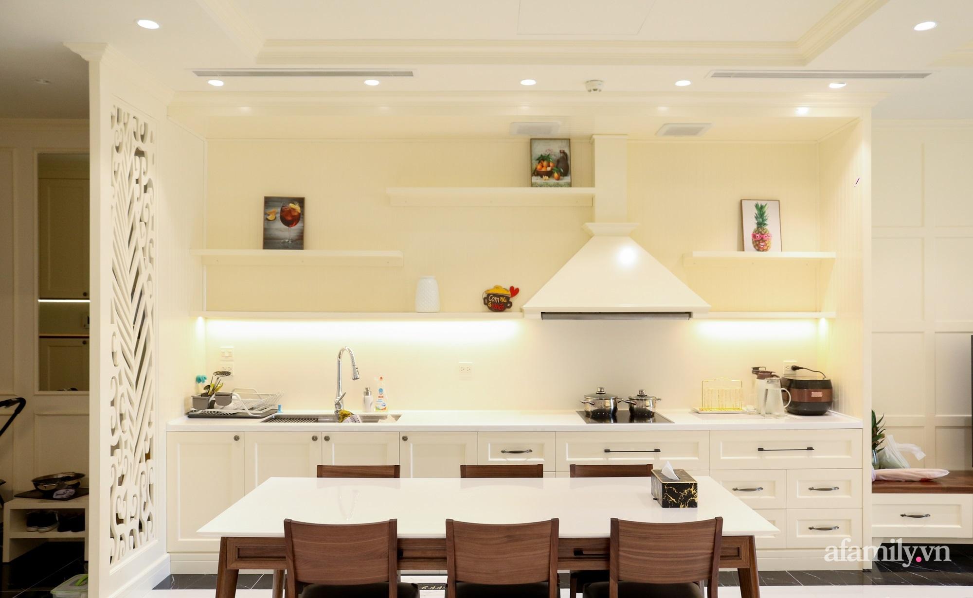 Căn hộ 121m² đẹp sang chảnh với phong cách bán cổ điển ở Hà Nội - Ảnh 7.