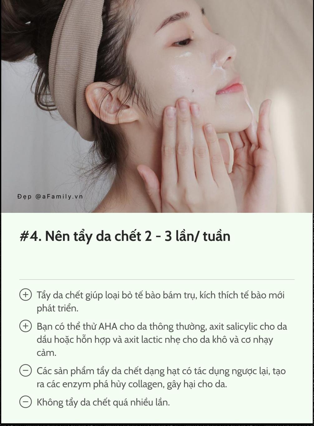 """12 điều mà bất kì bác sĩ da liễu nào cũng muốn các chị em """"khắc cốt ghi tâm"""" để có làn da đẹp, mịn màng - Ảnh 4."""