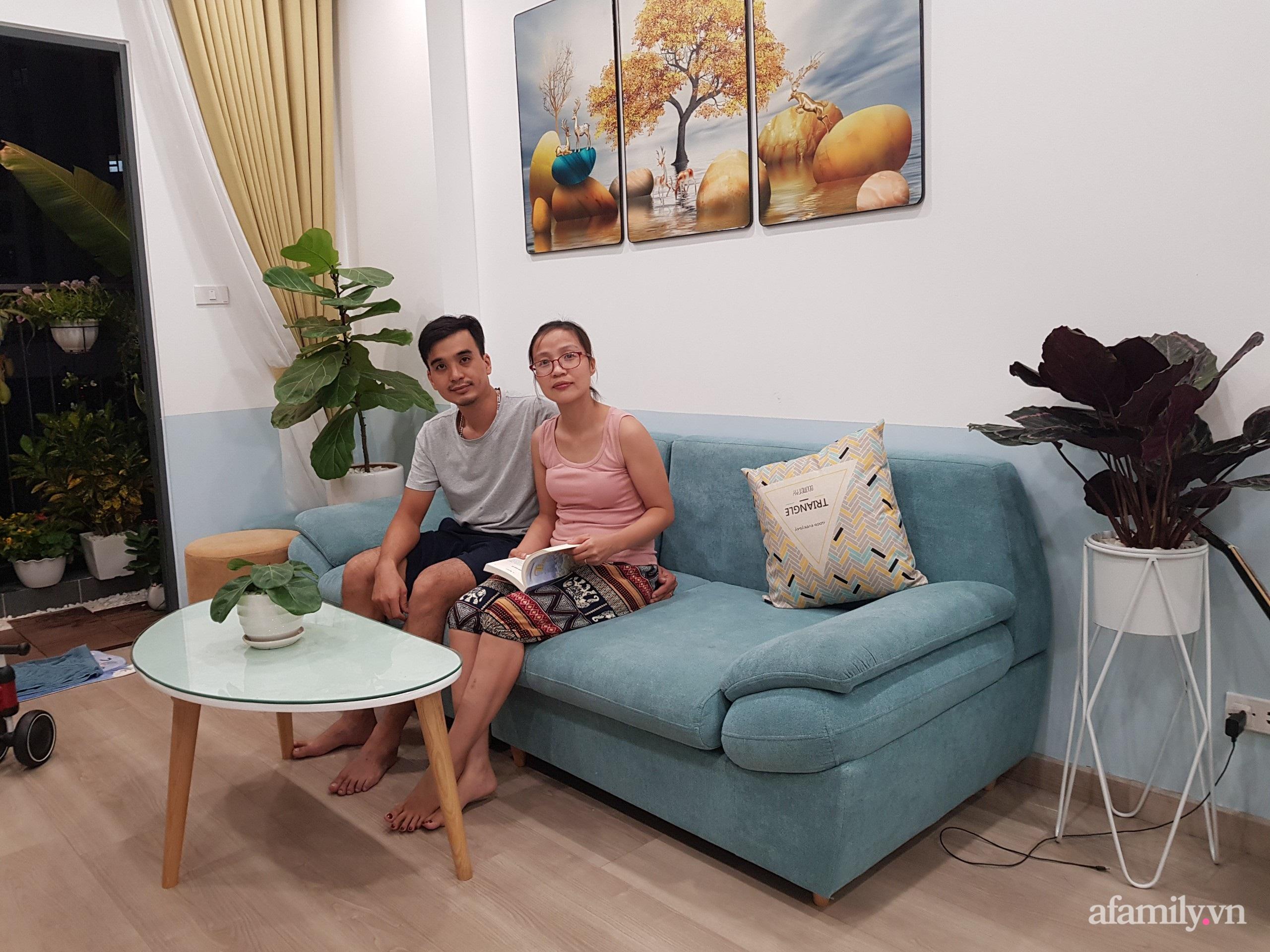 Căn hộ xanh từng góc nhỏ với chi phí hoàn thiện 200 triệu đồng là tâm huyết 9 năm tích góp của vợ chồng trẻ ở Hà Nội - Ảnh 1.