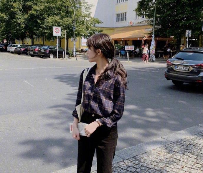 """Gái Hàn có 3 style lên đồ dịp Thu Đông, muốn sang chảnh hay thoải mái thì bạn cứ """"áp"""" theo là đẹp - Ảnh 10."""