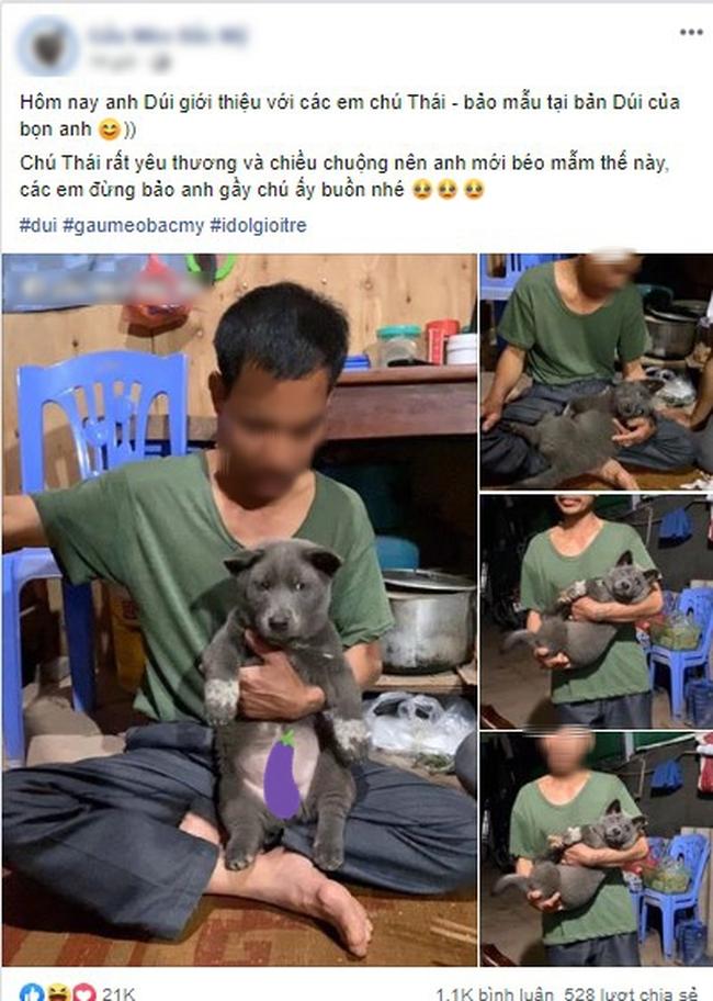 Idol Nguyễn Văn Dúi gây sốc với ngoại hình già nua, béo phệ và lại còn bị xích cổ đáng thương? - Ảnh 5.