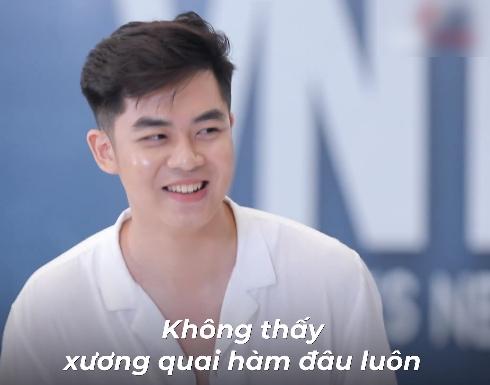 """Vietnam's Next Top Model: Hotboy xứ Nghệ vác bụng mỡ đi catwalk, Nam Trung mỉa mai không giảm cân sẽ """"lót lá chuối"""" mời về - Ảnh 7."""