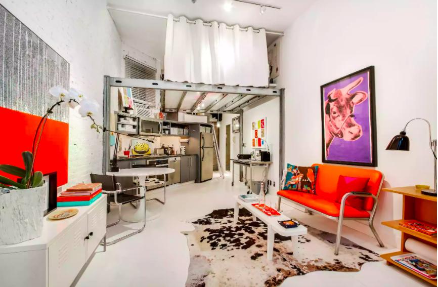 Những ý tưởng siêu thú vị và tiện ích bố trí giường gác xép cho căn hộ nhỏ - Ảnh 1.